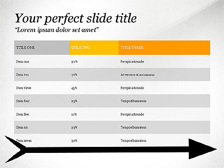 Reaching Goal, Slide 2, 03782, Presentation Templates — PoweredTemplate.com