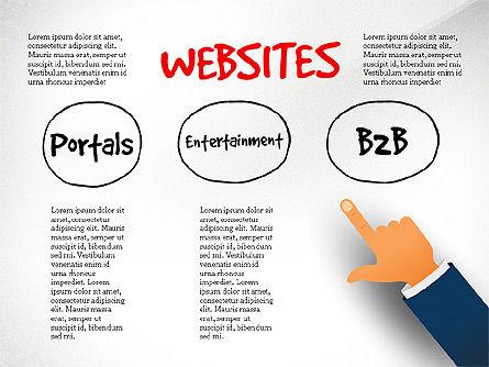 Websites Classification, Slide 3, 03784, Organizational Charts — PoweredTemplate.com