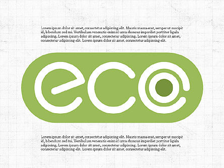 Presentation Templates: Eco Friendly Presentation Concept #03786