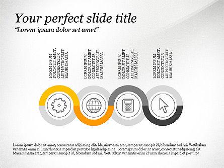 Presentation Shapes, Slide 3, 03788, Shapes — PoweredTemplate.com