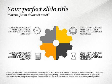 Presentation Shapes, Slide 4, 03788, Shapes — PoweredTemplate.com