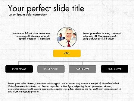 Organizational Charts, Slide 3, 03789, Organizational Charts — PoweredTemplate.com