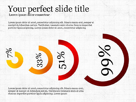 Simple Infographics Shapes, Slide 4, 03792, Infographics — PoweredTemplate.com