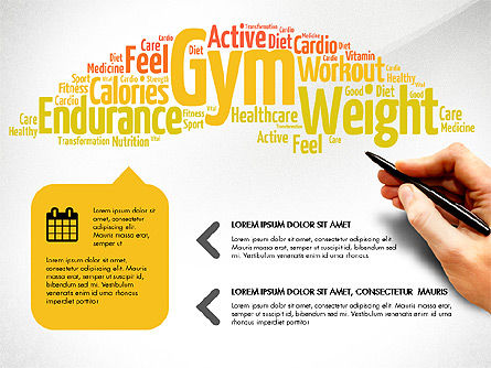 Health Presentation Concept, Slide 2, 03794, Presentation Templates — PoweredTemplate.com