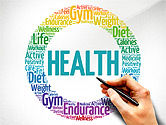 Presentation Templates: Health Presentation Concept #03794