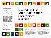 Icons: Vlakke pictogrammen presentatieconcept #03795