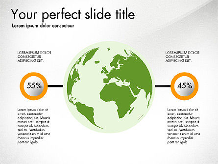 Continents Infographics, Slide 3, 03796, Infographics — PoweredTemplate.com
