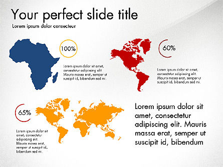 Continents Infographics, Slide 4, 03796, Infographics — PoweredTemplate.com