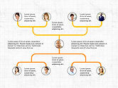 Organizational Charts: Company Organizational Chart #03800