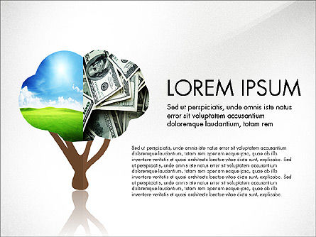 Presentation Templates: Investments Presentation Concept #03806