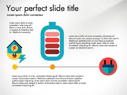Energy Shapes, Slide 2, 03808, Presentation Templates — PoweredTemplate.com