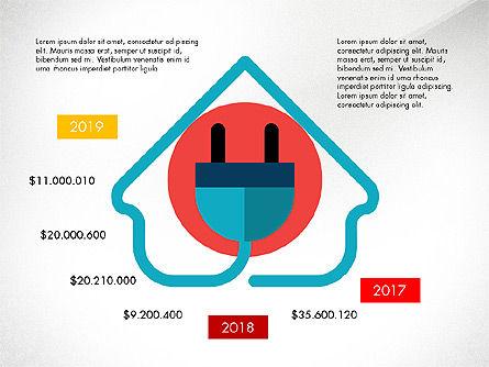 Energy Shapes, Slide 3, 03808, Presentation Templates — PoweredTemplate.com