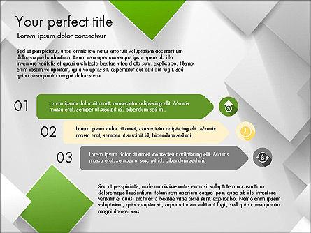 Geometrical Slide Deck, Slide 2, 03812, Presentation Templates — PoweredTemplate.com