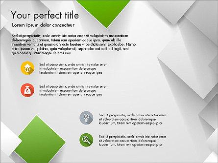 Geometrical Slide Deck, Slide 3, 03812, Presentation Templates — PoweredTemplate.com