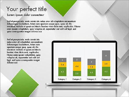 Geometrical Slide Deck, Slide 4, 03812, Presentation Templates — PoweredTemplate.com