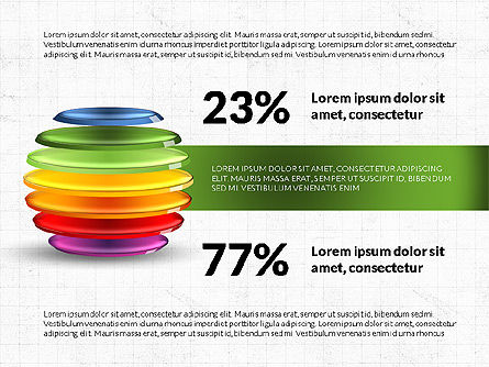 Sliced Sphere Infographics, Slide 3, 03815, Infographics — PoweredTemplate.com