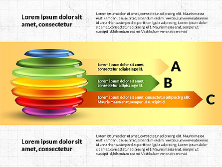 Sliced Sphere Infographics, Slide 4, 03815, Infographics — PoweredTemplate.com