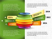 Infographics: Sliced Sphere Infographics #03815