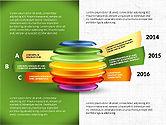 Infographics: 슬라이스 영역 infographics #03815