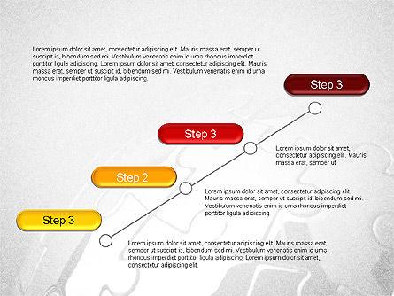 Organizational and Connections, Slide 3, 03816, Organizational Charts — PoweredTemplate.com