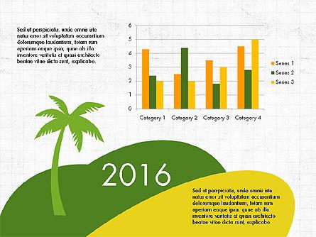 Travel Presentation Deck, Slide 2, 03817, Presentation Templates — PoweredTemplate.com