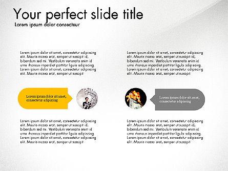 Startup Presentation Deck, Slide 2, 03823, Presentation Templates — PoweredTemplate.com