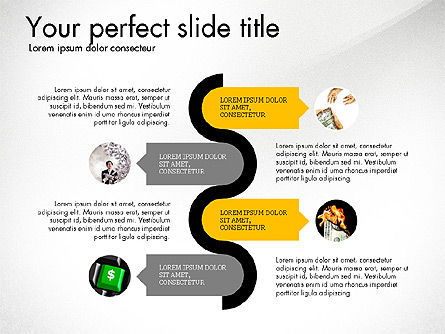 Startup Presentation Deck, Slide 3, 03823, Presentation Templates — PoweredTemplate.com
