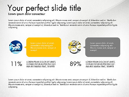 Startup Presentation Deck, Slide 4, 03823, Presentation Templates — PoweredTemplate.com