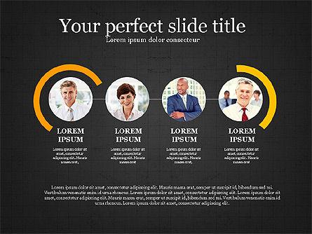 Personnel Efficiency, Slide 10, 03825, Organizational Charts — PoweredTemplate.com