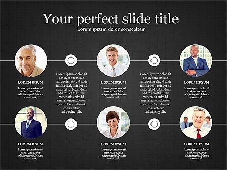 Personnel Efficiency, Slide 11, 03825, Organizational Charts — PoweredTemplate.com