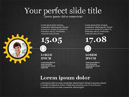 Personnel Efficiency, Slide 12, 03825, Organizational Charts — PoweredTemplate.com