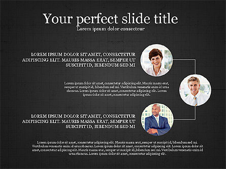 Personnel Efficiency, Slide 13, 03825, Organizational Charts — PoweredTemplate.com