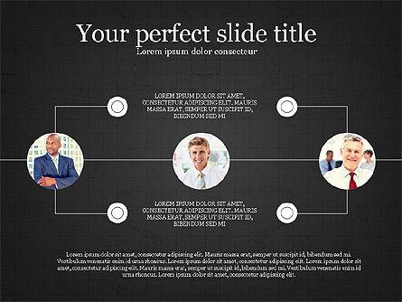 Personnel Efficiency, Slide 14, 03825, Organizational Charts — PoweredTemplate.com