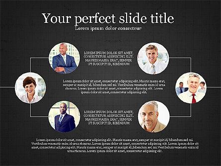 Personnel Efficiency, Slide 16, 03825, Organizational Charts — PoweredTemplate.com