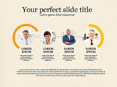 Personnel Efficiency, Slide 2, 03825, Organizational Charts — PoweredTemplate.com