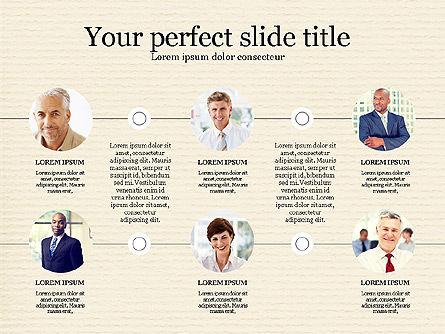 Personnel Efficiency, Slide 3, 03825, Organizational Charts — PoweredTemplate.com