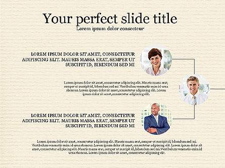 Personnel Efficiency, Slide 5, 03825, Organizational Charts — PoweredTemplate.com