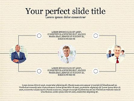 Personnel Efficiency, Slide 6, 03825, Organizational Charts — PoweredTemplate.com