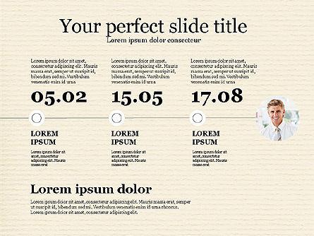 Personnel Efficiency, Slide 7, 03825, Organizational Charts — PoweredTemplate.com