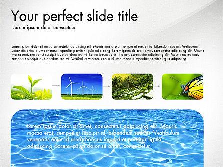 Sustainability Presentation Deck, Slide 3, 03826, Presentation Templates — PoweredTemplate.com