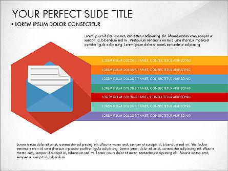 Business Presentation in Material Design Style, Slide 2, 03828, Presentation Templates — PoweredTemplate.com