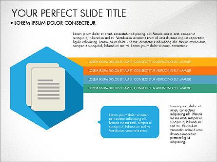 Business Presentation in Material Design Style, Slide 4, 03828, Presentation Templates — PoweredTemplate.com