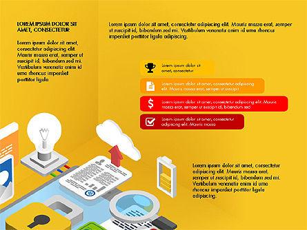 Presentation Templates: Placa de apresentação de inovação #03829