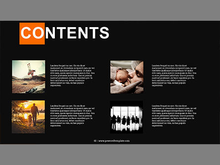 Photography Portfolio, Slide 2, 03831, Presentation Templates — PoweredTemplate.com