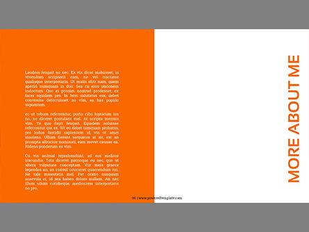 Photography Portfolio, Slide 4, 03831, Presentation Templates — PoweredTemplate.com