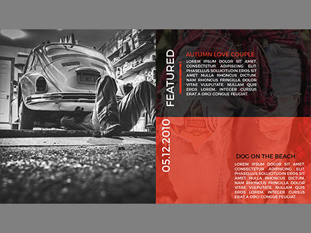 Professional Photographer Portfolio, Slide 3, 03832, Presentation Templates — PoweredTemplate.com
