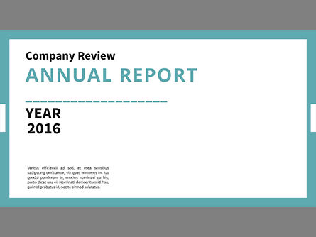 company annual report presentation deck for powerpoint presentations, Report Presentation Template, Powerpoint templates
