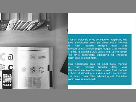 Minimalist Company Profile Presentation, Slide 3, 03835, Presentation Templates — PoweredTemplate.com