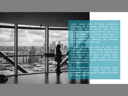 Minimalist Company Profile Presentation, Slide 4, 03835, Presentation Templates — PoweredTemplate.com