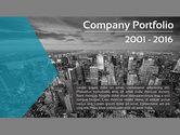 Presentation Templates: Minimalist Company Profile Presentation #03835